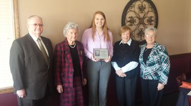 Lowry named 2014 Arland Williams scholarship recipient