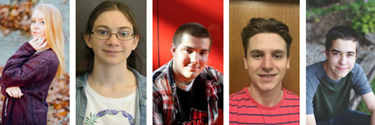 Five MHS graduates receive Lebovitz Lively Arts Scholarships