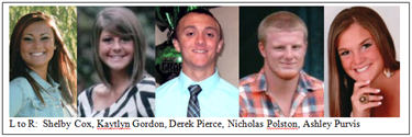 Five local students receive Mattoon High School Alumni Scholarships
