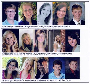 Area high school students receive Niebrugge Scholarship