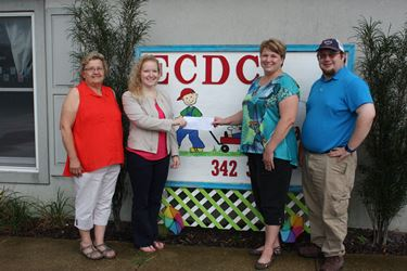 Effingham Child Development Center awarded grant from Siemer Milling Endowment