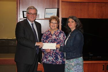 CASA of East Central Illinois receives two local grants