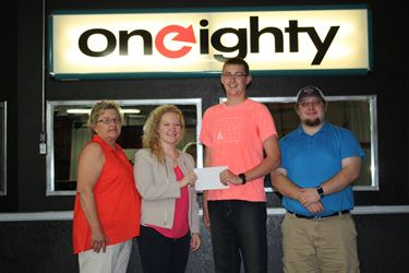 Oneighty receives $8,000 grant from Siemer Milling Endowment