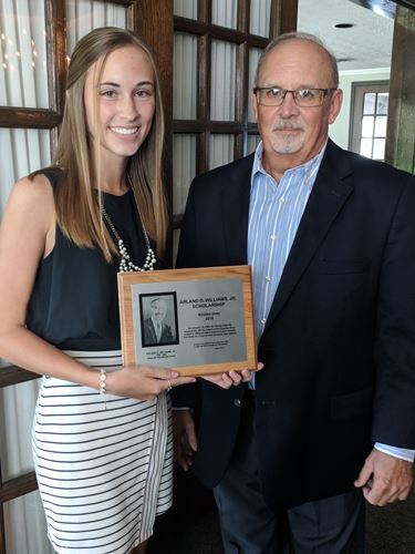 2018 A.D. Williams Scholarship recipient announced at annual luncheon