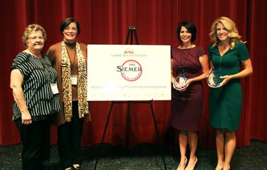 100+ Women Who Care Effingham County receives Richard C. Siemer Outstanding Philanthropy Award