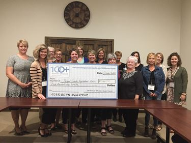 100 Women Who Care Jasper County contributes $5,100 to Jasper County Agricultural Association