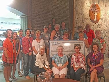 100 Women Who Care Jasper County contributes $5,650 to Jasper County Senior Center