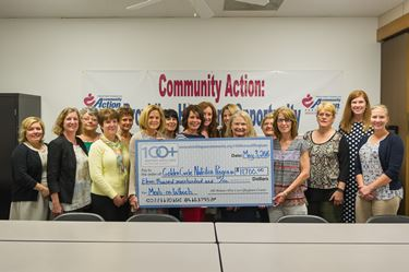 Golden Circle Nutrition Program receives contributions from 100+ Women Who Care Effingham County