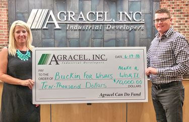 Team Agracel supports Make-a-Wish Illinois through Agracel Can Do Fund