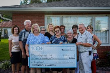100 Women Who Care Jasper County contributes $6,250 to Compassionate Friends