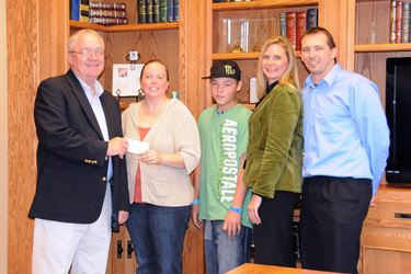 Community based mentoring program receives grant from BP/Meyer Oil