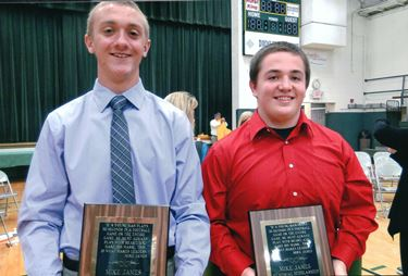 Two Mattoon High School seniors receive Mike James Memorial Scholarships