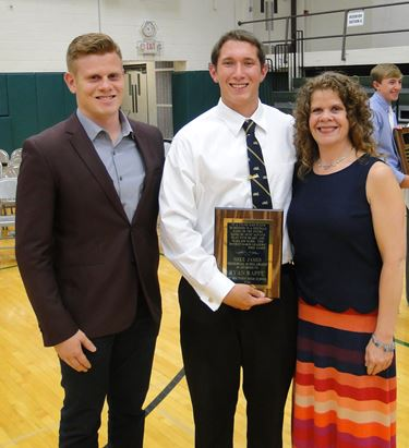 Mike James Memorial Scholarship awarded to Ryan Rappe