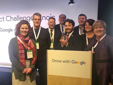 Mattoon in Motion wins Google.org Impact Challenge Illinois People's Choice Award