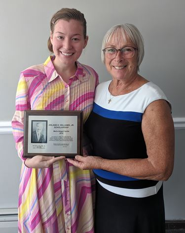 2019 A.D. Williams Scholarship recipient announced at annual luncheon