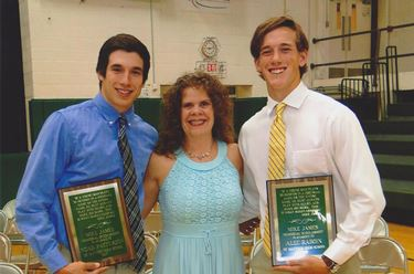 Mike James Memorial Scholarship awarded to Patterson and Raboin