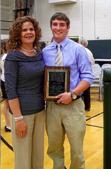 2013 Mike James Memorial Scholarship awarded to Cody Morris